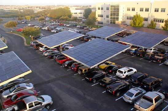 Dell and Envision Solar refashion parking lot into clean energy farm, EV recharge station (video)