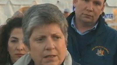 Napolitano: Housing is #1 Issue after Sandy