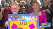 Robin Roberts 'Photobombs' 'GMA' Audience Member
