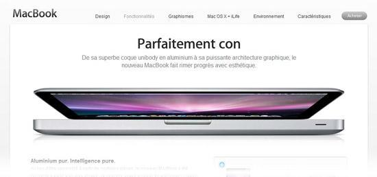 Zut alors! MacBook announcement doesn't translate well