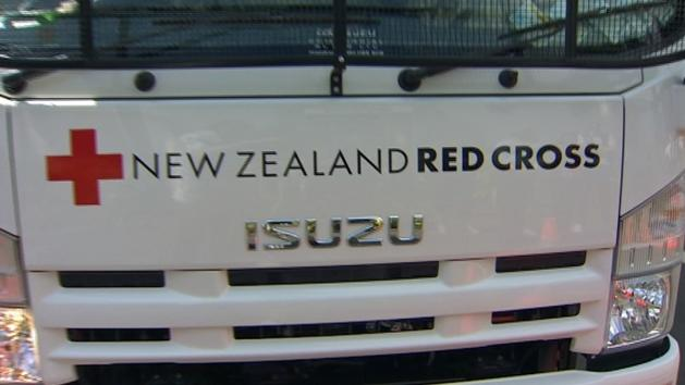 Red Cross Rolls Out Disaster Trucks