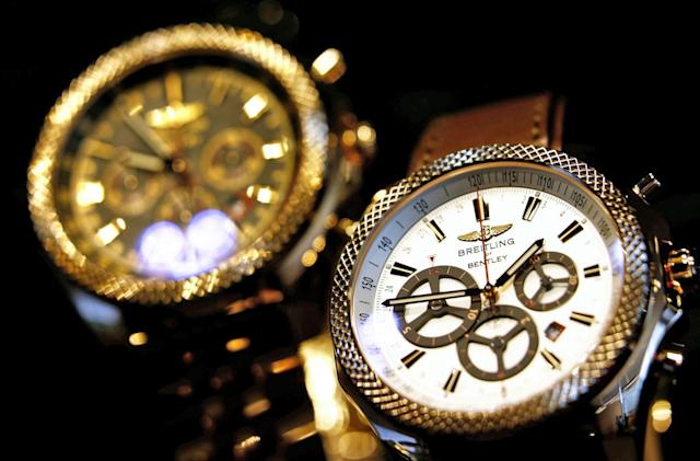 Photonic Swiss watch engraving might keep counterfeiters at bay