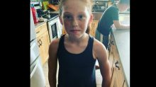 Parents outraged after daughter, 9, is told her tank top 'distracts' boys at school