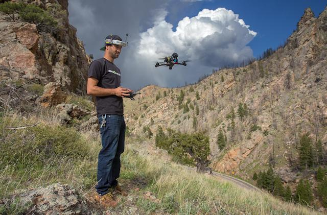 What it takes to be a drone racer