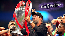 The Five Pointer: Klopp on Champions League defence, new deal for de Gea, veteran cricketer's record score