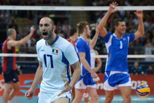 Voleibol - Italia vence a EEUU y enfrentará a Brasil en semifinal de voleibol masculino