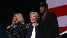 Beyoncé Surprises Crowd as She and Jay Z Campaign For Hillary Clinton at Get-Out-The-Vote Concert in Cleveland