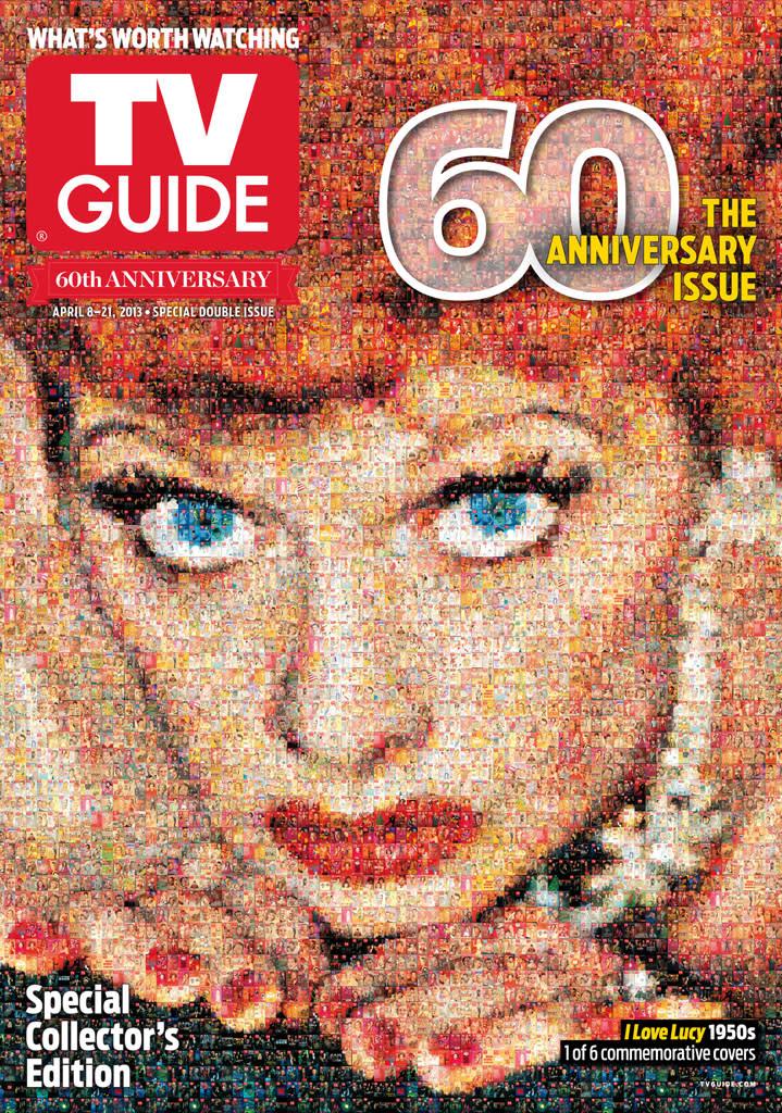 Tv guide magazine 60th anniversary for Anniversary magazine
