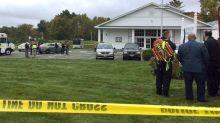 Bride and bishop shot by gunman during wedding