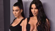The strange face mask Kim and Kourtney Kardashian swear by