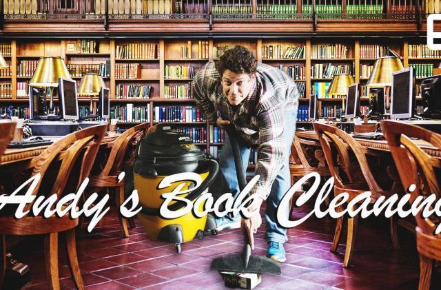 ICYMI: Boston's book cleaning machine and Disney's new SFX tricks