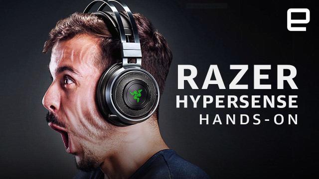 Razer's 'Hypersense' vibration tech shakes your whole gaming rig