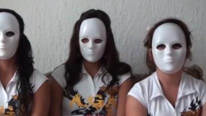Tras matanza de Minatitlán, resurge video de tres mujeres enmascaradas que denunciaron al cártel de Jalisco