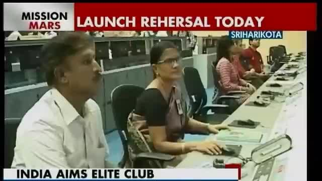 ISRO all set for Mars Mission's launch rehearsal today