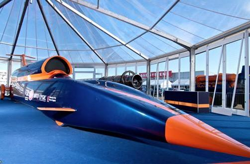 Bloodhound SuperSonic Car begins construction: 1,000mph on Intel Atom processors (video)