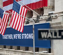 US STOCKS-Wall St gains as recovery hopes overshadow U.S. protests