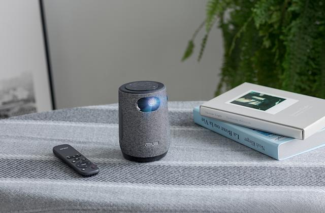 ASUS' ZenBeam Latte is a coffee cup-sized portable projector