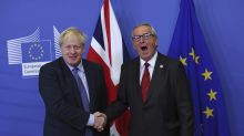 EU signs off Boris Johnson's Brexit deal as Juncker warns of no more extensions