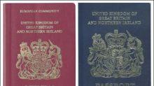 Großbritannien stellt ab März wieder blaue Reisepässe aus
