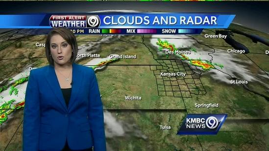 Tracking heat and possible storms for the weekend