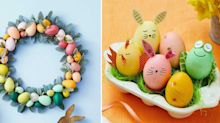40+ Easy Easter Crafts For Kids and Adults Alike