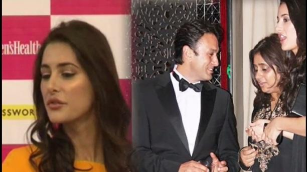 Nargis upset with questions on Ness Wadia