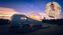 Alba Díaz: el hotel burbuja a 700€ la noche en el que se aloja