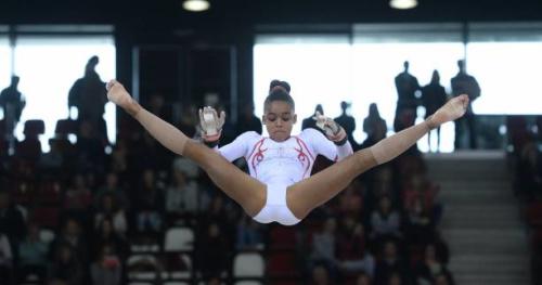 Gym - ChE (F) - Mélanie De Jesus Dos Santos s'offre le bronze