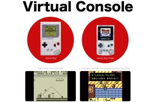 3DS has a Game Boy/ Game Boy Color Virtual Console [update]