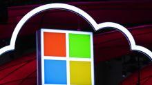 Microsoft Sales, Profit Gain; Shares Drop on Azure Concern