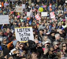 """The Latest: """"March for Our Lives"""" rallies draw huge crowds"""