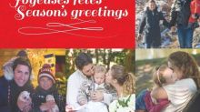 PHOTOS: Stephen Harper's chinchilla and the Governor General on skates? Must be political Christmas card season.