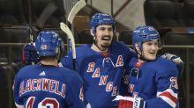Strome, Kreider lead Rangers to 6-2 win over Bruins