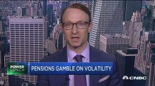 Pension funds gambling on volatility