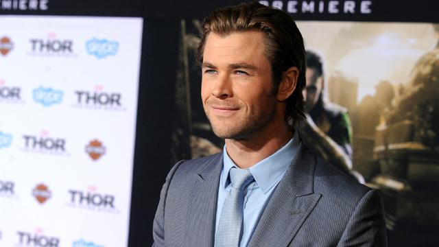 Chris Hemsworth's 'Thor: The Dark World' Hollywood Premiere