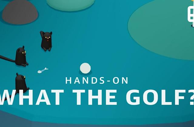 'What The Golf?' is the perfect game for people who don't care about golf