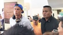 Cristiano Ronaldo visits Peter Lim and family in Singapore