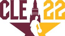 By the Grace of God, No Guitars in 2022 Cleveland NBA All-Star Game Logo
