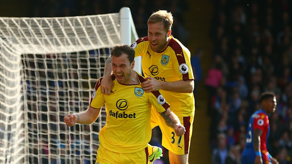 Crystal Palace 0 Burnley 2: Barnes and Gray seal long-awaited first away win