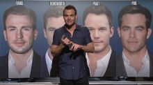 Chris Pine Delivers Musical 'SNL' Monologue Mocking the Number of Superhero Actors Named Chris