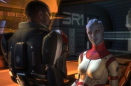 Mass Effect love scene now less safe for work [update]
