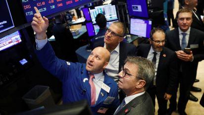 Stocks mixed on choppy trading day