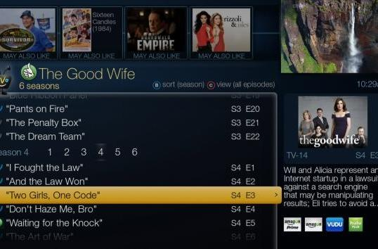 TiVo OnePass finds your favorite show no matter where it is