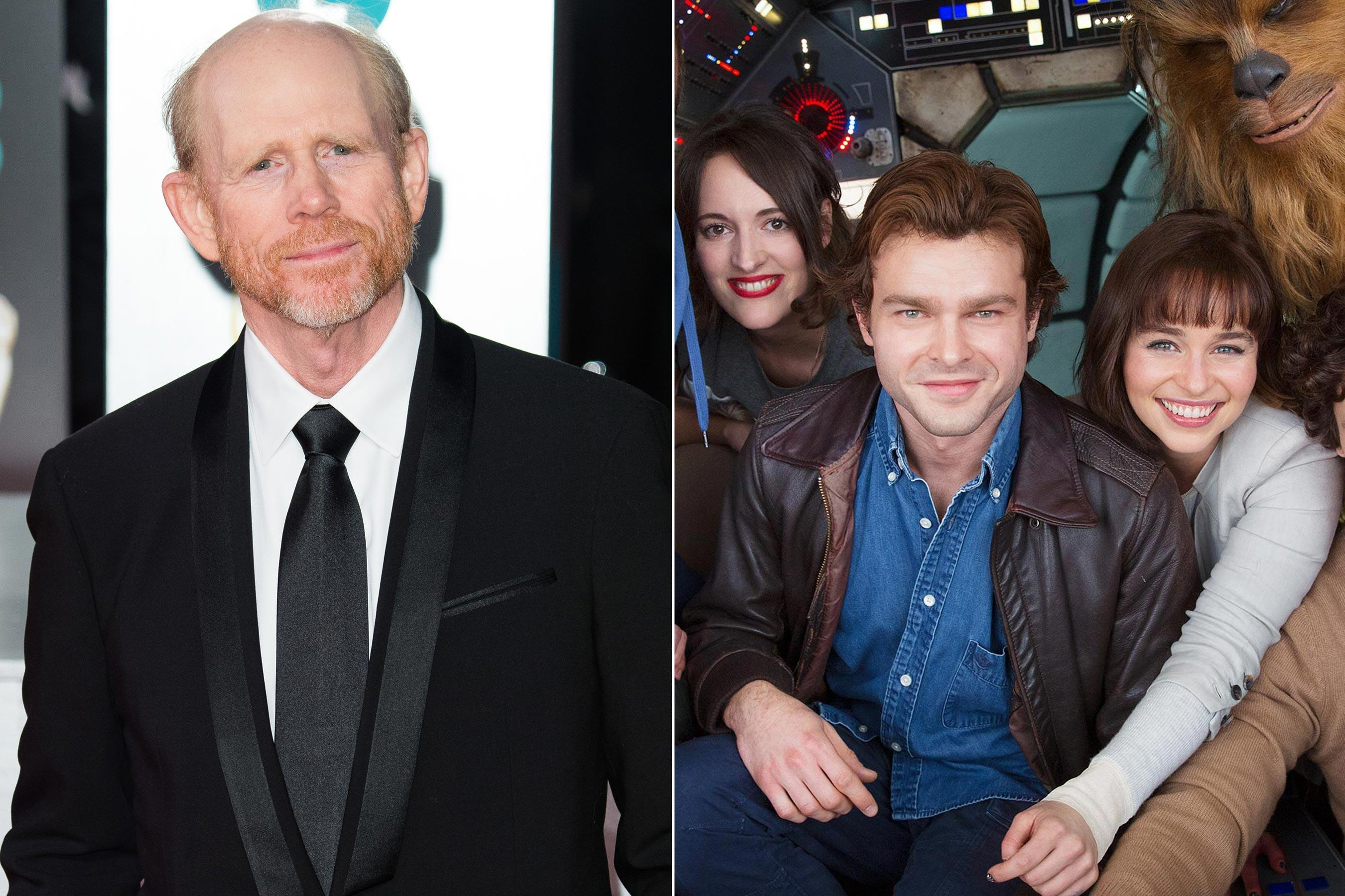Ron Howard comments on Han Solo directing job: 'Beyond grateful'