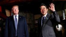 Asian markets fall on Trump and China bank warnings