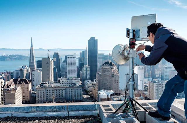 Google Fiber launches its first wireless gigabit project