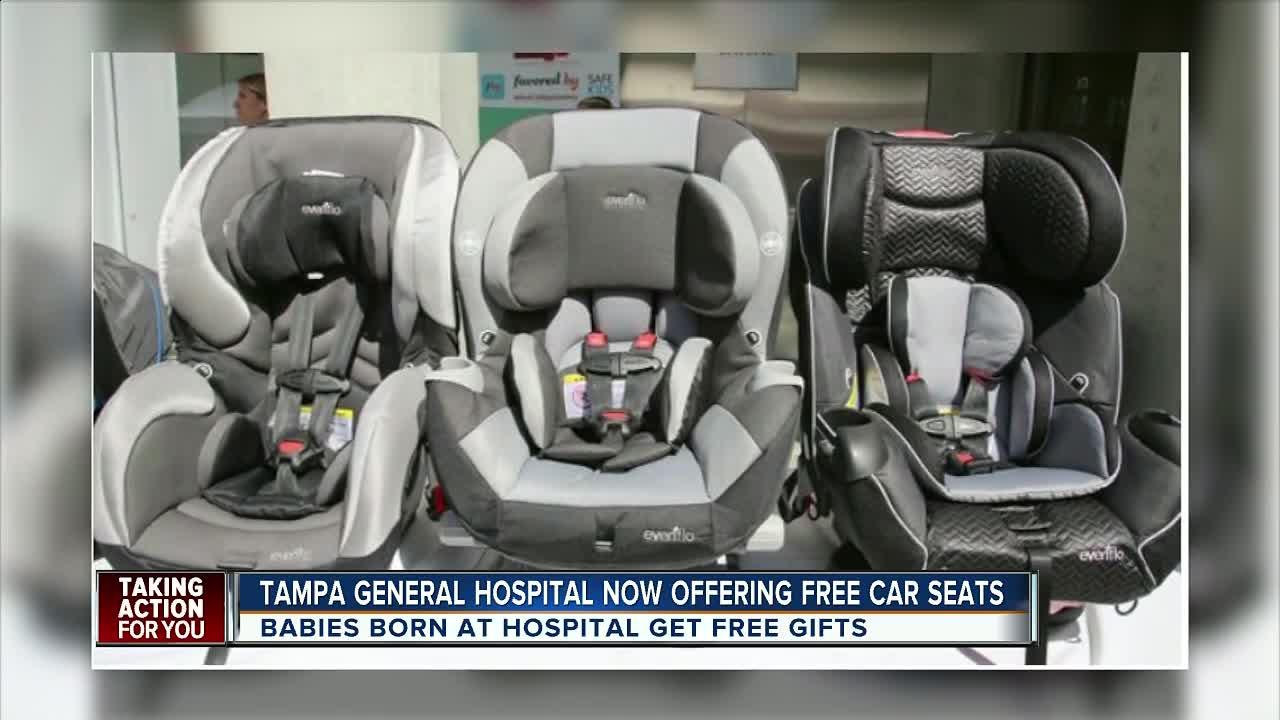 Deliver Your Baby At Tampa General Hospital, Where To Get A Free Car Seat