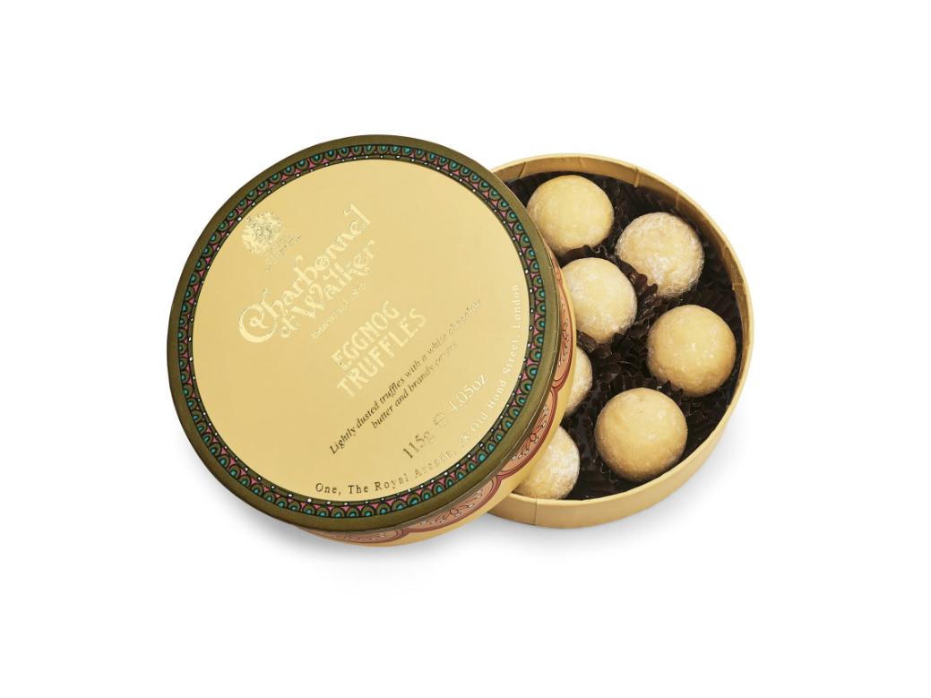 Charbonnel et Walker Eggnog Truffles in Gift Box