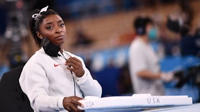 Athletes show support to Biles after her withdrawal