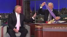 Old Video Of David Letterman Challenging Donald Trump Over China-Made Ties Goes Viral